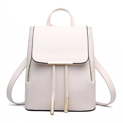 0b7a0c2d9fa9 Z-joyee Casual Purse Fashion School Leather Backpack Shoulder Bag ...