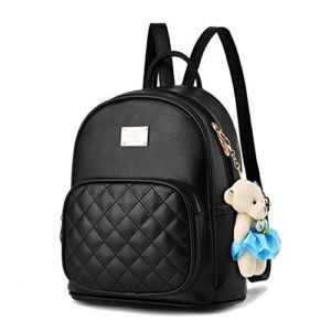 0905ade842 Women Leather Backpack Purse Satchel School Bags Casual Travel Daypacks for  Girls  GOOD QUALITY   Fashion backpack use luxurious PU leather and durable  ...